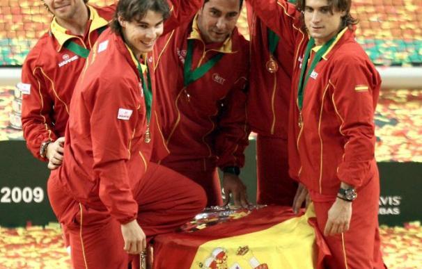 """El equipo español de la Copa Davis tiene en mente ya el """"triplete"""""""
