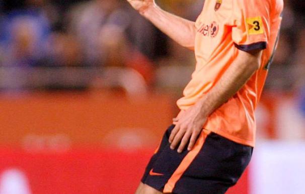 """Messi celebra el """"Balón de Oro"""" con dos goles y una gran actuación"""