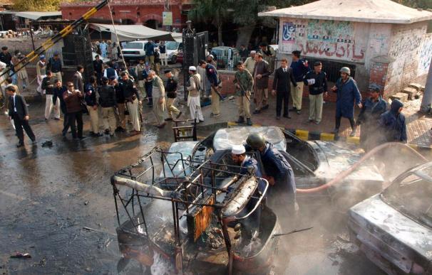 Varios heridos por una doble explosión en la ciudad paquistaní de Lahore