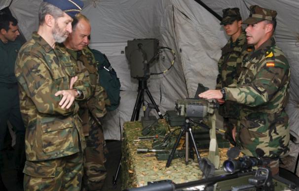 El jefe del Estado Mayor de la Defensa felicita a las tropas españolas en Bosnia