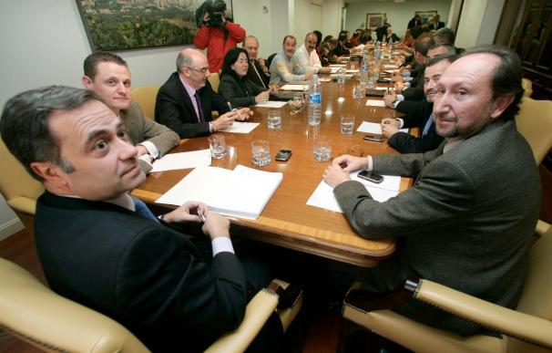 La mesa laboral de la fusión entre Caja Duero y Caja España concluye sin avances