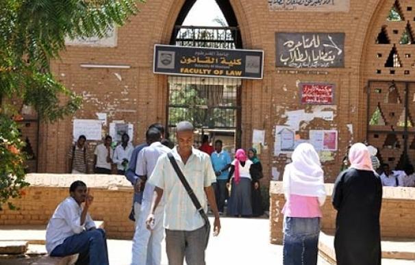 La política es un tema tabú también en la facultad de Derecho de la Universidad de Khartoum