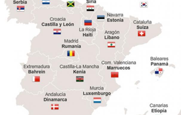 ¿Qué país tiene el PIB más parecido al de tu Comunidad?