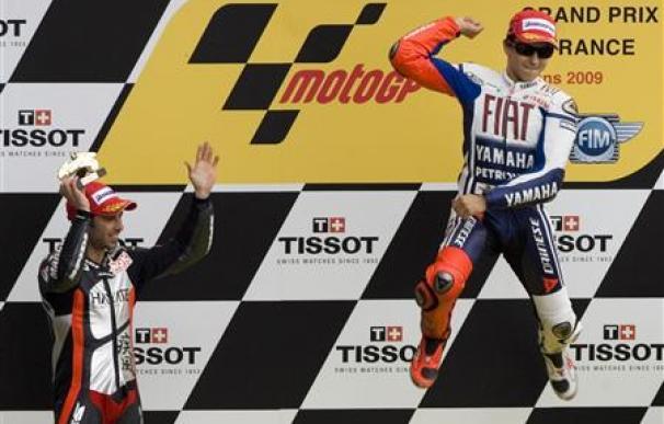 Lorenzo gana el Gran Premio de Francia de MotoGP