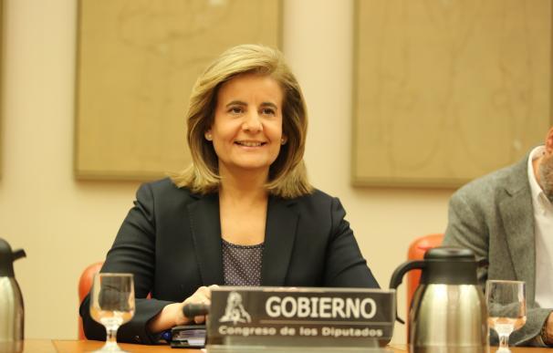 Báñez explicará hoy en el Congreso la subida de las pensiones y el déficit de la Seguridad Social