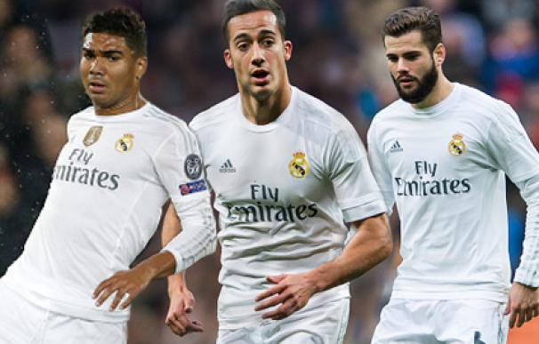 Casemiro, Lucas Vázquez y Nacho, los olvidados de Zidane