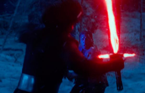 Finn muerto de miedo antes de su enfrentamiento con Kylo Ren