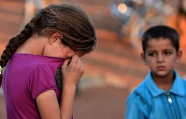 Los niños que huyen de la guerra, las principales víctimas de las mafias de 'escapers'.