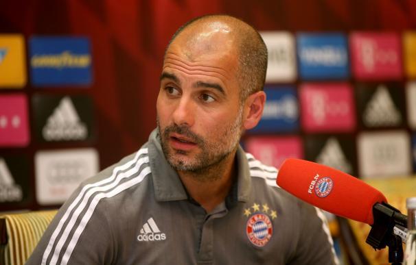 Guardiola entrenará al Manchester City a partir de la próxima temporada / AFP