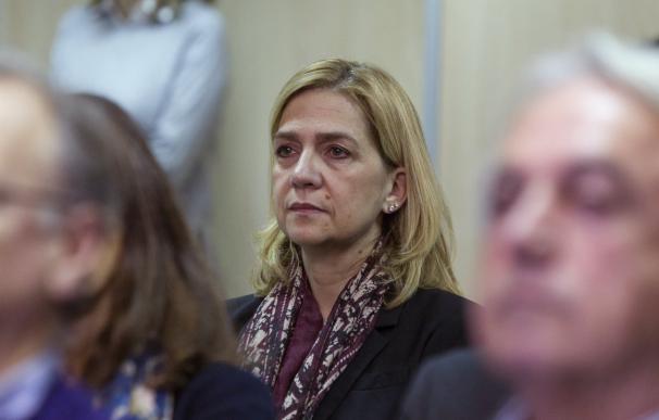 "Urdangarin.- La defensa de la Infanta apela a la ""jurisprudencia consolidada"" del TS sobre la doctrina Botín"