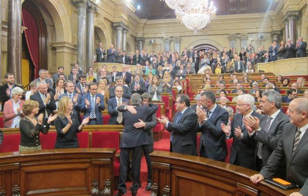 Puigdemont tomará posesión como presidente de la Generalitat este martes