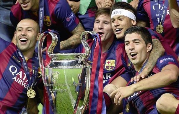 ¿Hará historia el Barça ganando su segunda Champions League consecutiva? / Getty Images.