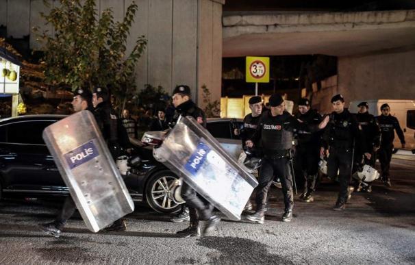 Explosión en el metro de Estambul, en diciembre.