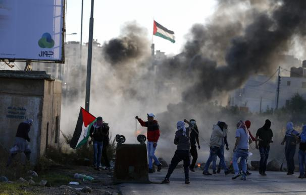 Protestas de palestinos en Israel
