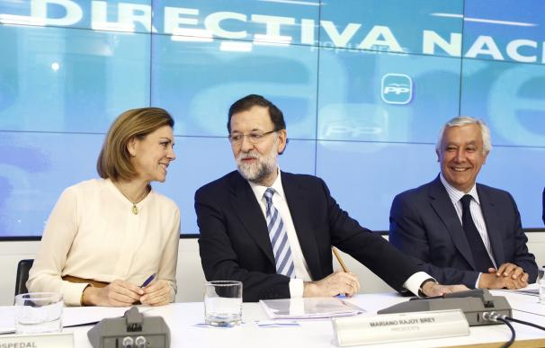 Rajoy convoca hoy a la Junta Directiva del PP para anunciar sus candidatos a presidir el Congreso y el Senado
