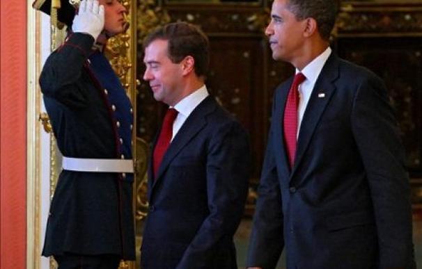 La reunión entre Obama y Medvédev ha logrado una reducción significativa del arsenal | EFE