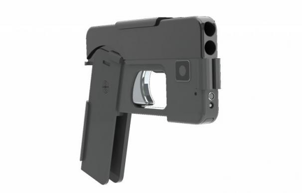 La policía europea en alerta por la pistola que parece un Iphone
