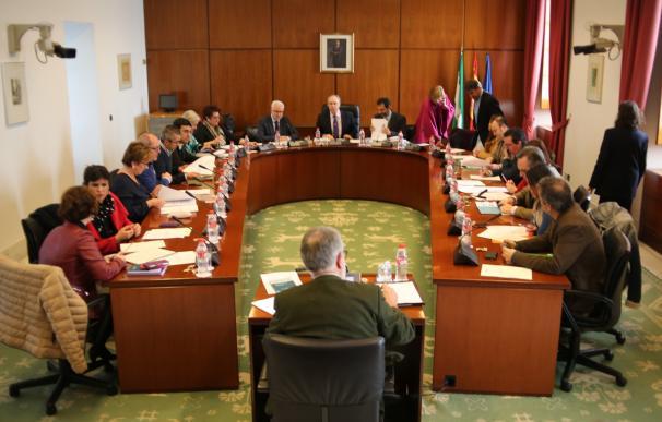 La Diputación Permanente convalida por unanimidad el decreto de ayudas al temporal en Huelva, Cádiz y Málaga