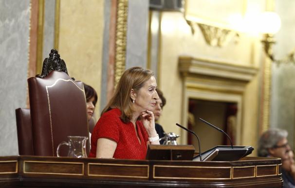 Ana Pastor convocará la próxima semana la Diputación Permanente que decidirá si hay un Pleno del Congreso sobre el Yak