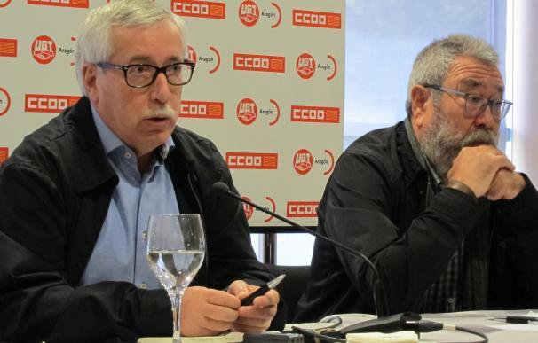 """Méndez y Toxo creen que suspender inversiones en Volkswagen no resolvería la crisis, sino que """"podría agravarla"""""""