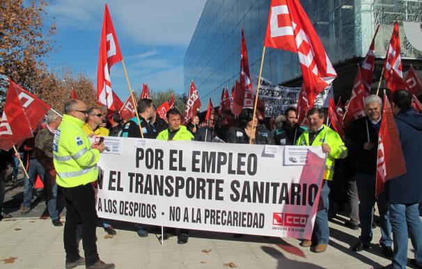 """CCOO cree que este viernes habrá """"un principio de entendimiento"""" con Fernández sobre los pliegos de transporte sanitario"""