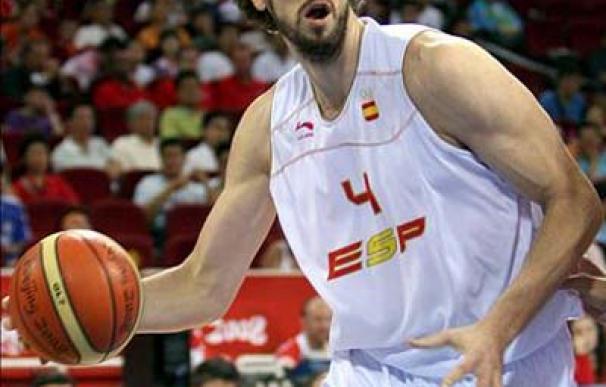 Gasol en el Eurobasket
