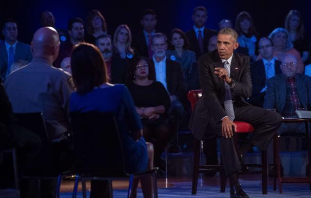 Obama defiende ante las familias de víctimas el control en la venta de armas