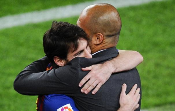 ¿Messi y Guardiola juntos en el Manchester City? / Getty Images