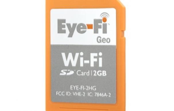 Eye-Fi GEO, tarjeta de memoria para cámaras con Wi-Fi y GPS