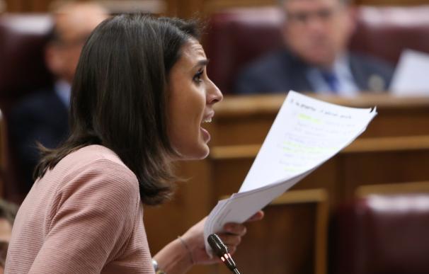 """Podemos cree que lo importante del futuro del PSOE es saber si van a """"rectificar"""" y van a dejar de apoyar al PP"""