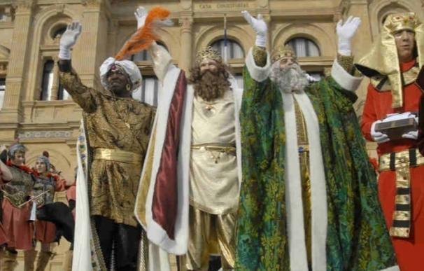 Los Reyes Magos llegarán a San Sebastián a caballo por los arenales de la playa de La Concha