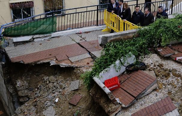 La Junta realiza obras de emergencia por valor de 10,4 millones de euros tras el temporal en Málaga