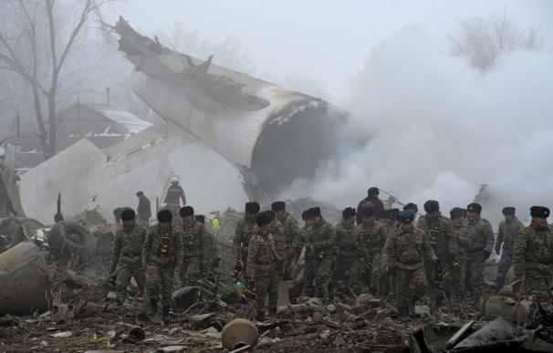 Accidente aéreo en Kirguizistán