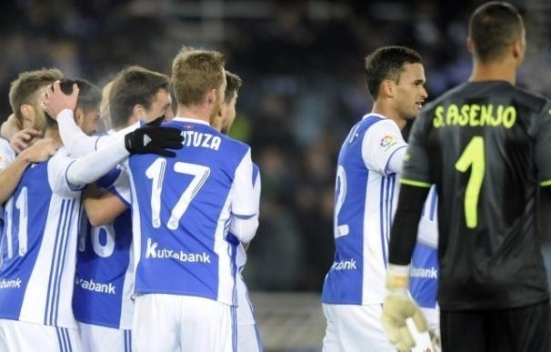 (Crónica) La Real deja tocado (3-1) al Villarreal y Alcorcón y Córdoba firman tablas