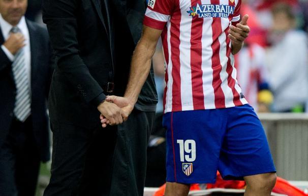 Simeone no cierra la puerta al regreso de Diego Costa