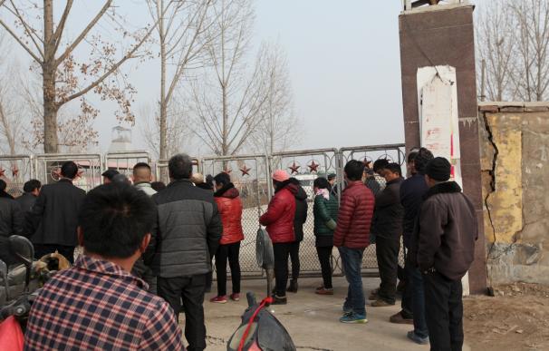 Se suicida el propietario de la mina de yeso en la que quedaron atrapados 17 trabajadores en el este de China