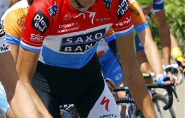 Andy Schleck, segundo en el Tour de Francia