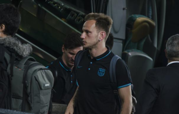 Rakitic, fuera de la convocatoria del Barça para medirse al Villarreal
