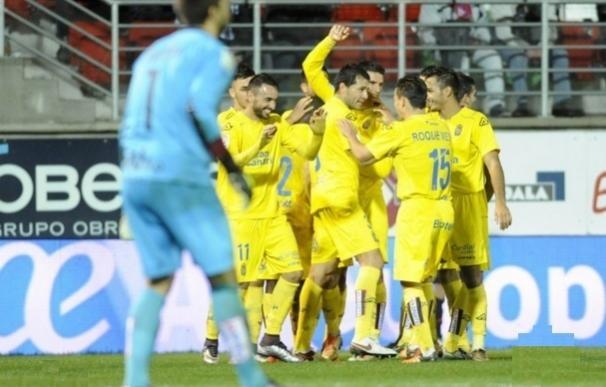 Las Palmas saca medio billete en Ipurua y el Celta resuelve en Cádiz