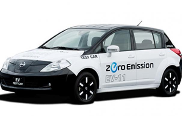 El coche eléctrico de Nissan, a la venta el 2010