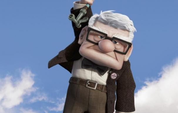 Walt Disney y Pixar 'lanzan la casa por los aires' en 'Up'