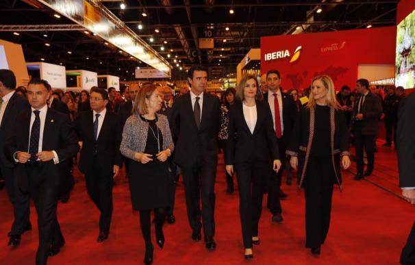 La Reina Letizia inaugura la 36ª edición de la Feria Internacional de Turismo-FITUR