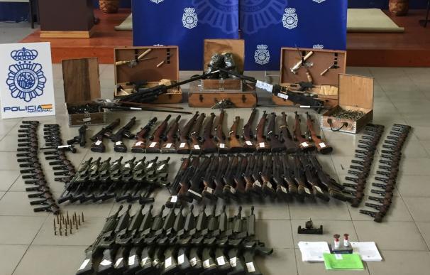 Incautan más de 10.000 armas en operación contra la red que traficaba con ellas y que acabó con un detenido en Cantabria