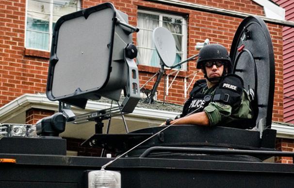 El cañón de sonido en la cumbre del G-20 (Margaretkilljoy, Flickr)