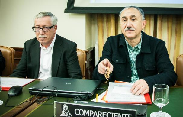 El PSOE llevará al primer pleno del año en el Congreso la ILP de los sindicatos sobre renta mínima