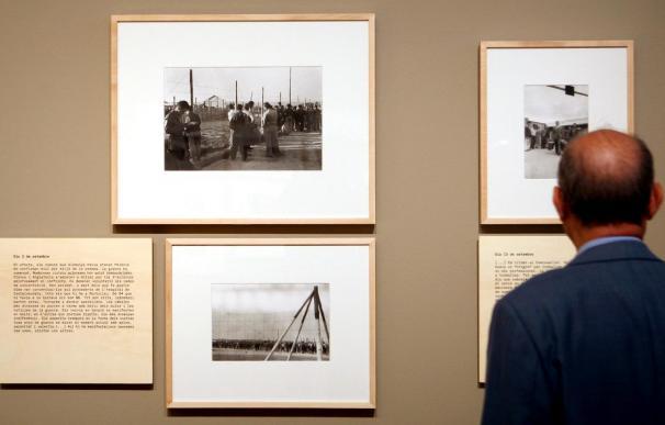 Se exhibe una selección de las 600 fotos que Agustí Centelles hizo en Bram