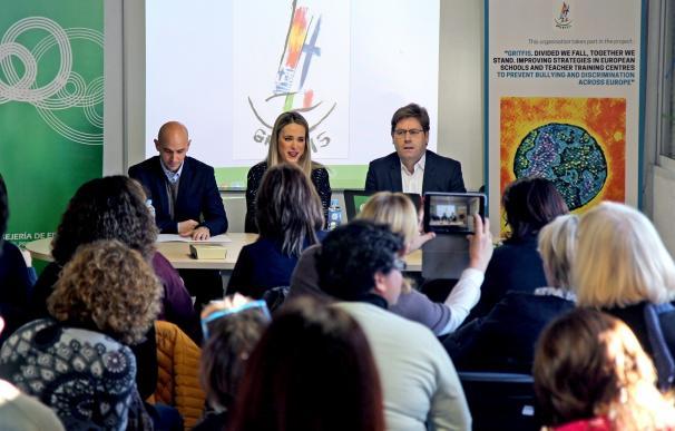 Docentes europeos debaten sobre buenas prácticas para prevenir el acoso escolar y la discriminación