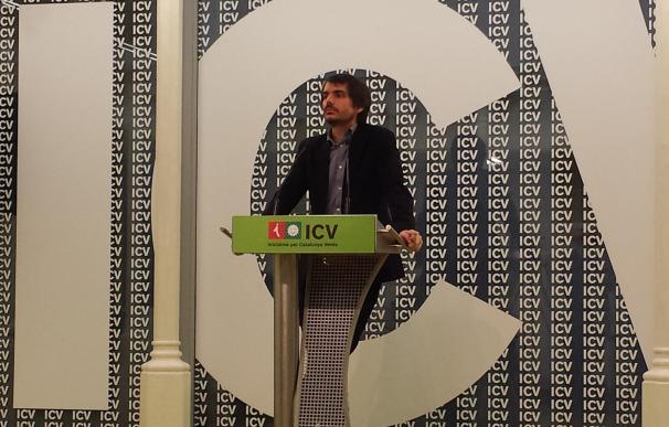 El portavoz de ICV asistirá a la conferencia del referéndum del Govern en Bruselas