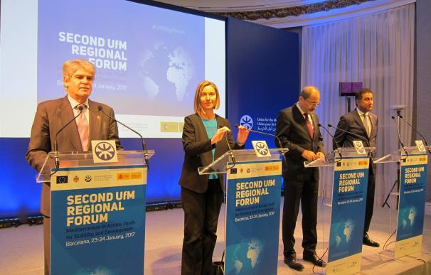 Los ministros de UpM acuerdan impulsar la integración regional para resolver conflictos
