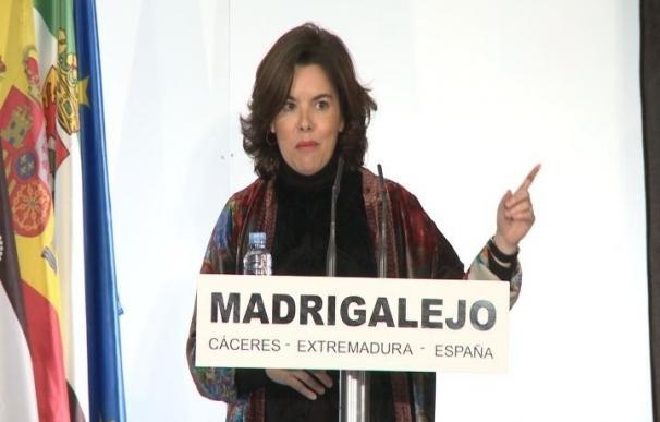 Santamaría sobre referéndum catalán: lo que es de todos se decide entre todos y nadie es dueño de la Constitución